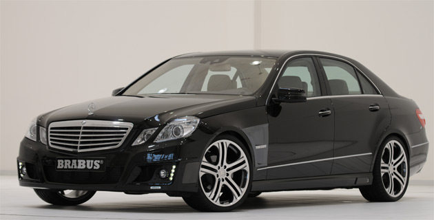 Brabus first off the block with complete upgrade for new for Mercedes benz e class 550