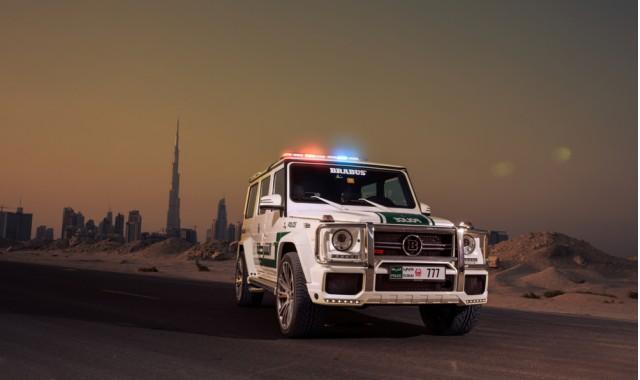 Brabus B63-S 700 Widestar Mercedes-Benz G63 AMG, Dubai Police