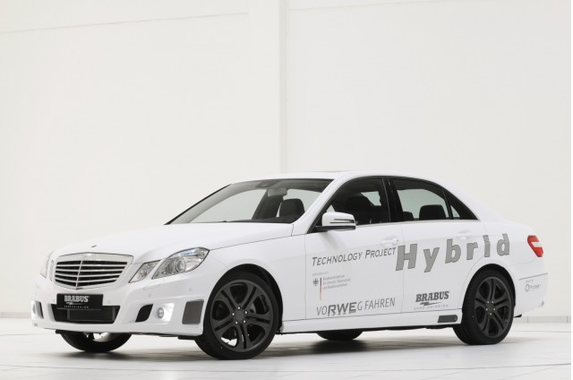 Brabus' Technology Project Hybrid, using Protean in-wheel motors.