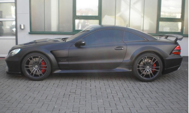 Brabus Vanish Mercedes-Benz SL65 AMG Black Series