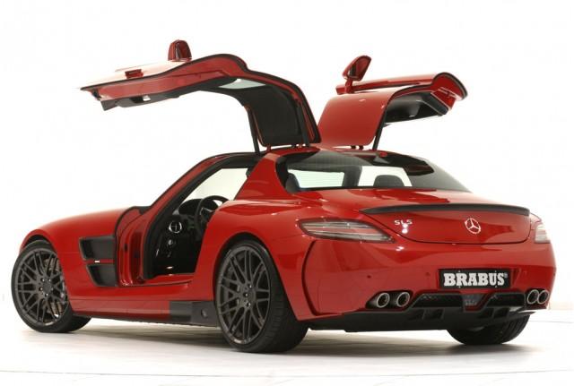 Brabus Widestar kit for the Mercedes-Benz SLS AMG