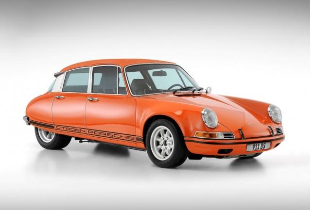 Brandpower's Porsche 911 and Citroën DS hybrid