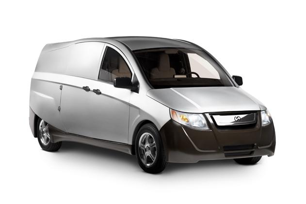 Bright Idea plug-in hybrid urban delivery van