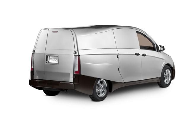 Bright Idea Plug In Hybrid Urban Delivery Van