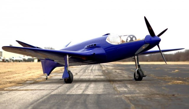 Bugatti 100P replica - Image via The Bugatti100P Project Facebook page