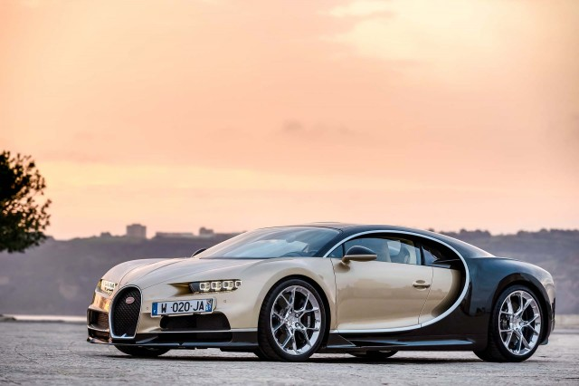 Bugatti trials 3D-printed titanium calipers for Chiron