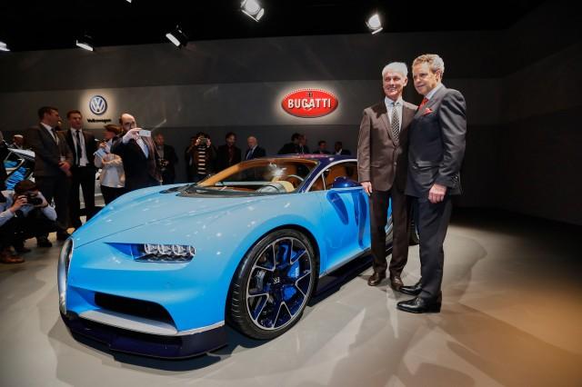 Bugatti Chiron, 2016 Geneva Motor Show