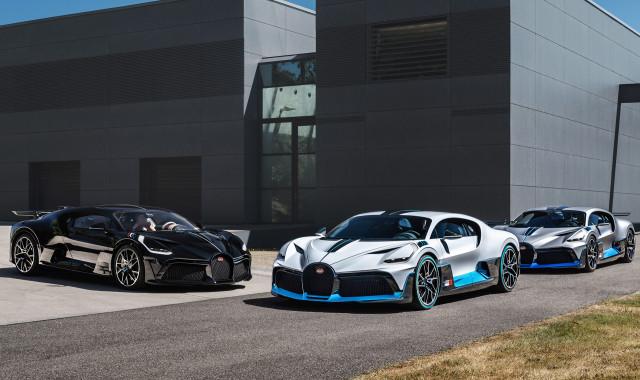 Pengiriman pelanggan Bugatti Divo dimulai - Agustus 2020