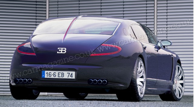 Bugatti Royale (or Bordeaux) rendered by Car Magazine