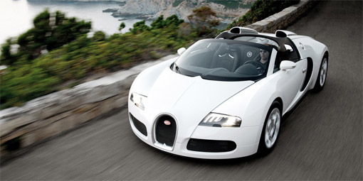 Bugatti Veyron Grand Sport debuts at Pebble Beach Concours d'Elegance