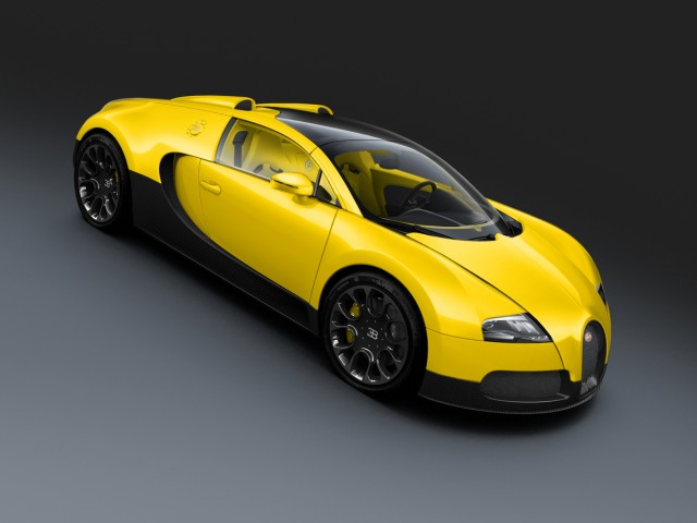 Bugatti Introduces Three New Special Edition Veyron Grand Sports