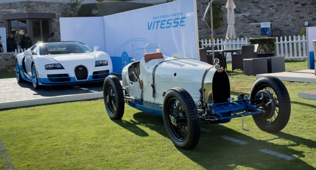 Bugatti Veyron Grand Sport Vitesse special edition at 2012 Pebble Beach Concours d'Elegance