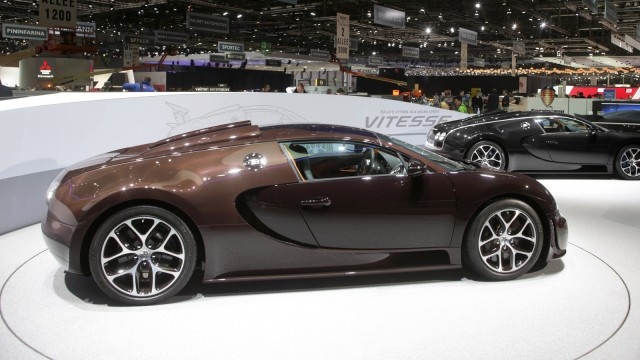 Bugatti Veyron Grand Sport Vitesse Ying & Yang