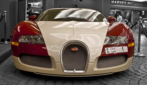Bugattis in dubai