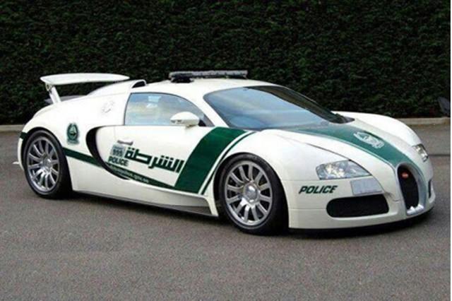 It S Finally Happened Bugatti Veyron Joins Dubai Police Fleet