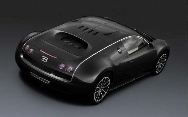 Bugatti Veyron Super Sport Black Carbon edition