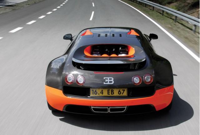 Bugatti Veyron Super Sport exhaust