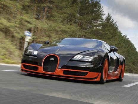 bugatti veyron super sport sets 267.8 mph top speed record