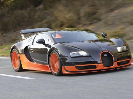 Bugatti Veyron SuperSport Beats Top Speed Record