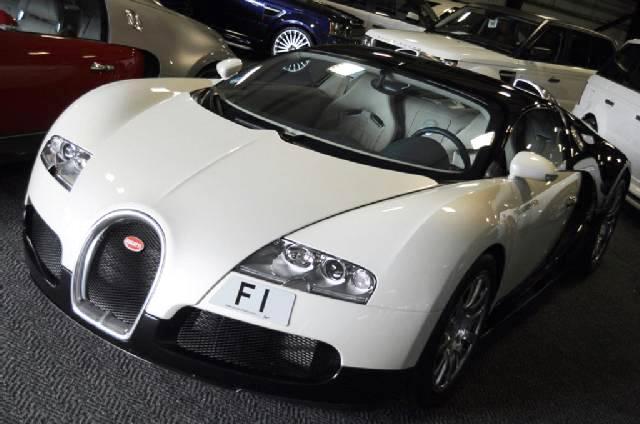 Bugatti Veyron up for sale