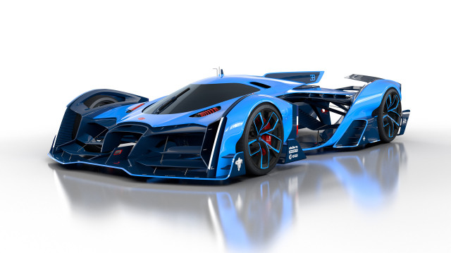Konsep Bugatti Vision Le Mans oleh Max Lask