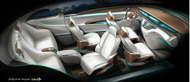 Hybrid Buick Mpv Business Concept Unveiled