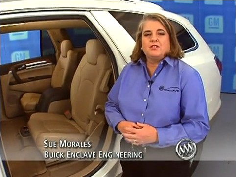 Sue Morales From The Buick Enclave Engineering Team