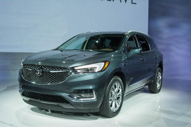 2018 Buick Enclave Avenir, 2017 New York auto show