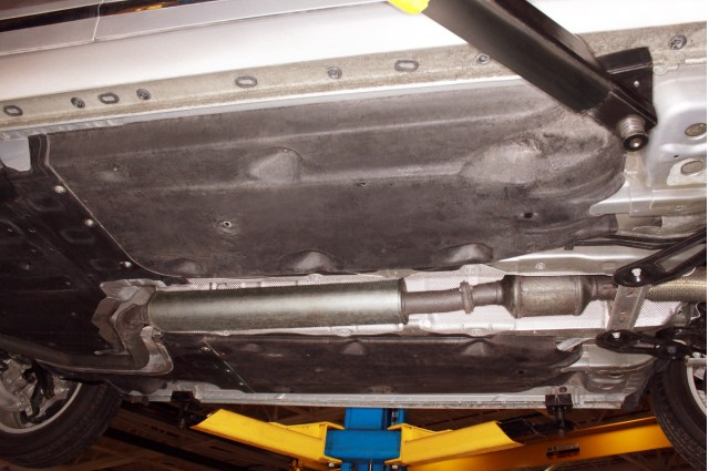 2012 Buick Lacrosse with eAssist, underbody aero panels