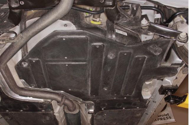 2012 Buick Lacrosse with eAssist, underbody aero panel