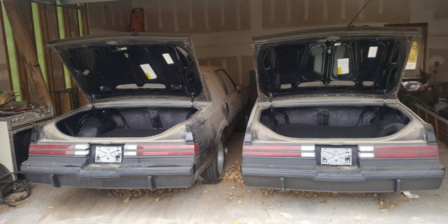 Pair Of 1987 Buick Grand Nationals Each Driven Less Than