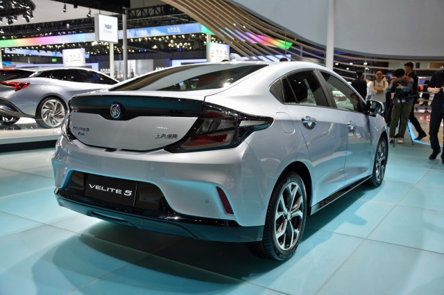 Buick Velite 5, for sale in China, at 2017 Shanghai auto show [photo: Ronan Glon]