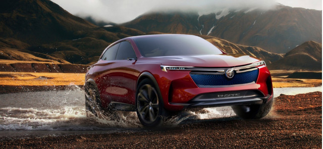 Buick Enspire Electric Suv Concept