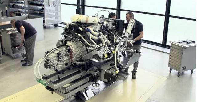 Building the Bugatti Veyron Grand Sport Vitesse La Finale