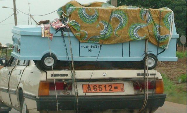 Burial in Benin by Xeni Jardin