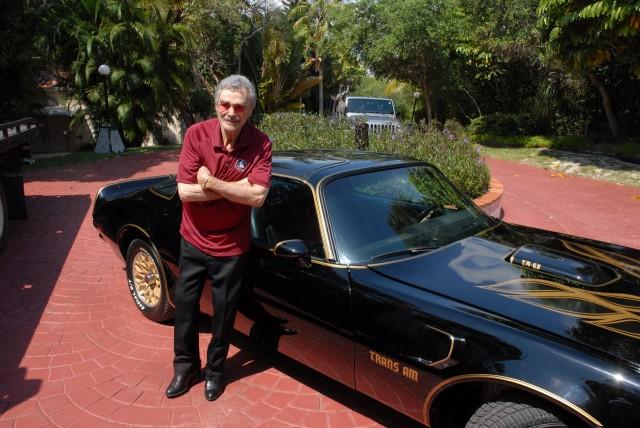 Burt Reynolds and his 'Bandit' 1977 Pontiac Trans Am