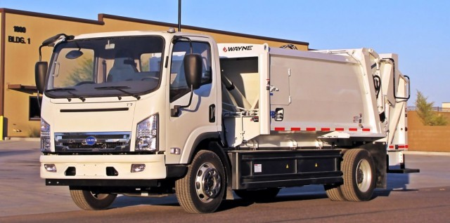 Byd And Wayne Engineering Electric Garbage Truck