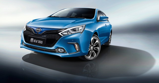 Toyota New Car 2017 >> BYD launches two new all-electric sedans for Chinese market