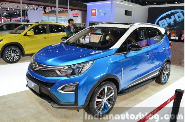 China S Byd Yuan Plug In Hybrid Mini Suv Styling Stolen