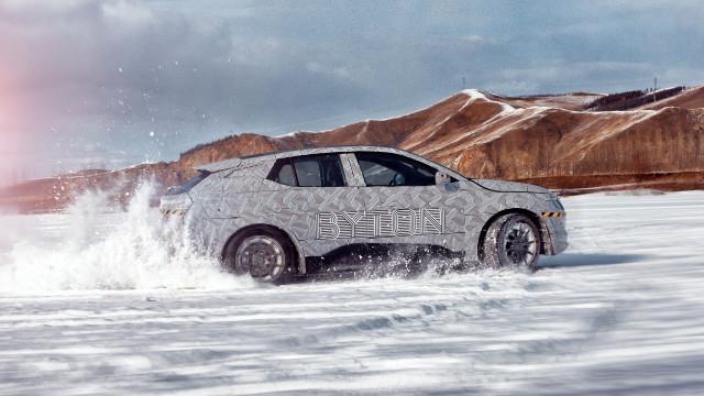 Byton M-Byte - winter testing, Inner Mongolia