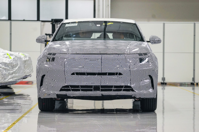 Byton M Byte Electric Suv Prototype