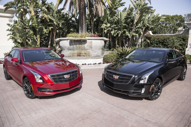 Cadillac ATS and CTS Black Chrome Appearance Package