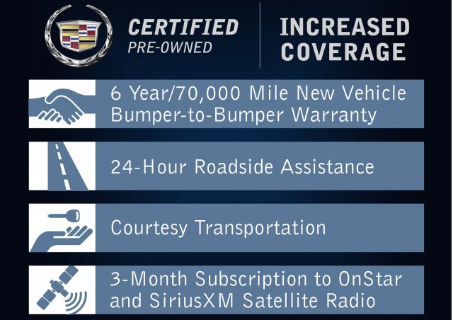 Cadillac Certified Pre-Owned Program