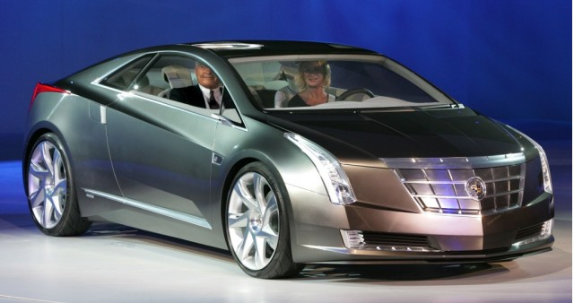 Gm S Second Electric Car After Chevy Volt To Be Cadillac Converj