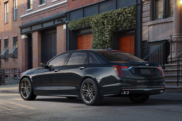 Cadillac will Unveil a 550-horsepower CT6 V-Sport in NY