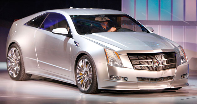 The New CTS Coupe Will Hit Showrooms In The Middle Of Next Year