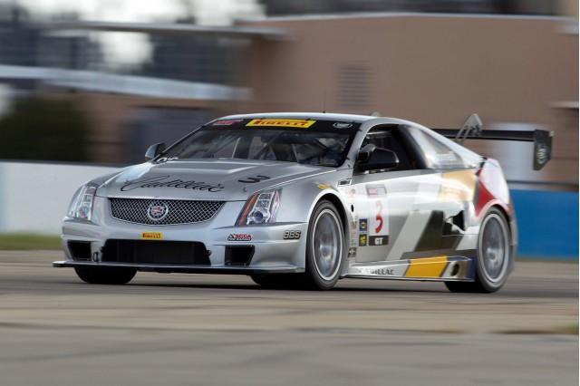 Cadillac Cts V Coupe Race Car Testing At Sebring