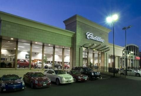 Cadillac dealership