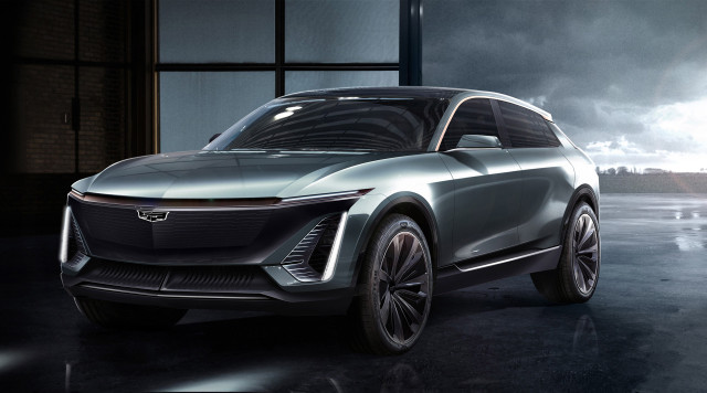 Cadillac electric crossover SUV based on GM BEV3 modular platform