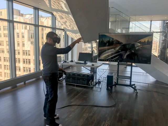 Cadillac Virtual Reality Showroom